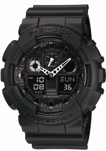 [カシオ]CASIO 腕時計 G-SHOCK ジーショック STANDARD GA-100-1A1JF メンズ