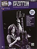 Amazon.co.jpLed Zeppelin Vol.1 (Ultimate Guitar Play-Along)