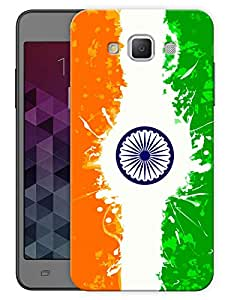"""Humor Gang Indian By Heart Printed Designer Mobile Back Cover For """"Samsung Galaxy A3"""" (3D, Matte, Premium Quality Snap On Case)"""