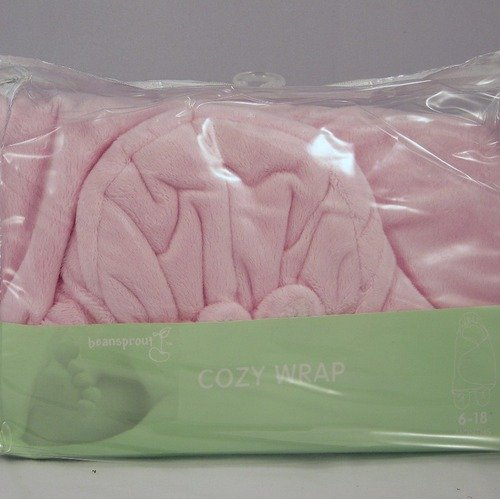 beansprout Baby Cozy Wrap in Pink