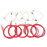 CCTREE 12V 40W 620 Ceramic Cartridge Heater and NTC Thermistor 100K 3950 for 3D Printer Creality CR-10 CR-10S S4 S5 Makerbot RepRap Prusa i3 (Pack of 10pcs)