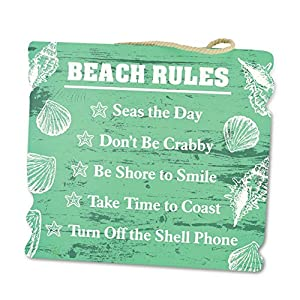51l9IdppEeL._SS300_ 100+ Wooden Beach Signs & Wooden Coastal Signs