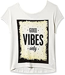 Madame Women's Body Blouse Shirt (M1551335_Off-White_Medium)
