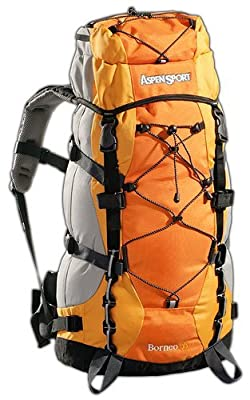 Black Canyon Trekkingrucksack Outdoorund Aspensport Borneo, orange, 55 liters, AB06L01