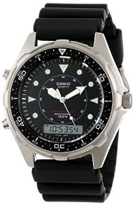 (真酷)卡西欧 Casio Men's AMW320R-1EV Marine Ana-Digi 男款双显潜水手表$49.93
