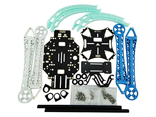 Usmile S500 PCB Quadcopter Frame Kit with Landing Gear Skid