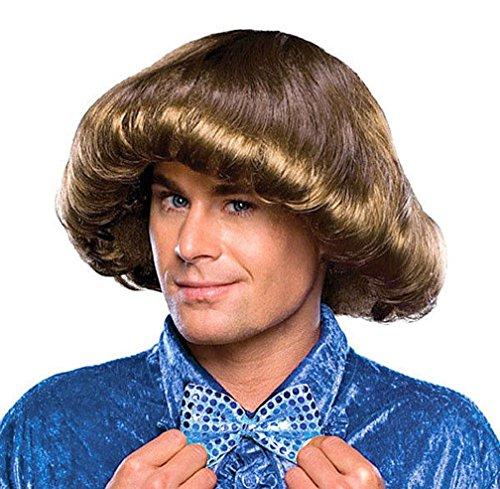 [Popcandy 70's Prom Boy Wig] (Boy George 80s Costume)