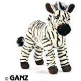 Webkinz Endangered Signature Cape Mountain Zebra with Trading Cards