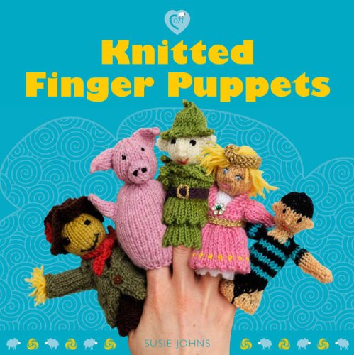 Easy Finger Puppet Knitting Pattern : Knitted finger puppets cozy harvard book store