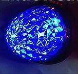 高輝度 16連 LED クリスタル 8面 カット トラック バス サイドマーカー ランプ 10個 セット 24V 車 専用 防水 加工 選べる カラー 色 (01: 青)