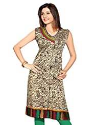 Cotton Silk Block Print Kurtis