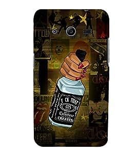 Wine Wiskey Daru Girl 3D Hard Polycarbonate Designer Back Case Cover for Samsung Galaxy Core 2 G355H