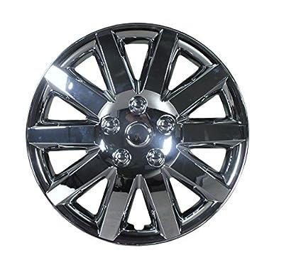 2007-2008 Chrysler Sebring 16 Inch Chrome Clip-On Hubcap Covers (set of 4)