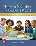 img - for Human Relations in Organizations: Applications and Skill Building book / textbook / text book