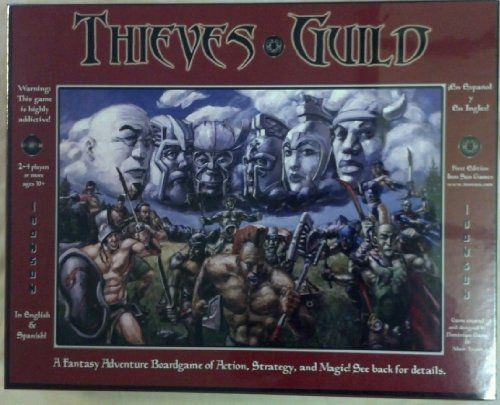 Thieves Guild Fantasy Adventure Board Game - 1
