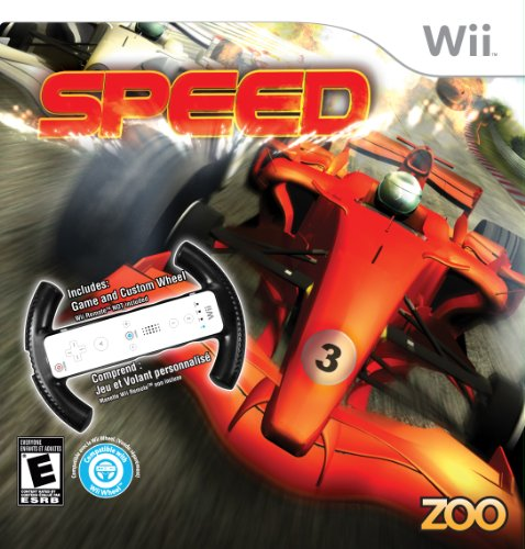 Speed with Racing Wheel