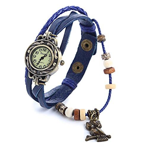 yarbar-le-donne-degli-orologi-da-polso-orologi-depoca-originali-braccialetto-di-pelle-gufo-ciondolo