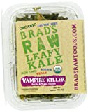 "2.5oz ""Vampire Killer"" Kale - Garlic & Vegan Cheese Flavor - Famous Brads Raw Foods - Vegan, Gluten Free, Natural, Healthy Snack"