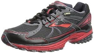 Brooks Mens Adrenaline ASR 10 GTX Running Shoes 1101481D694 Black/Anthracite/Lava 7.5 UK,42 EU