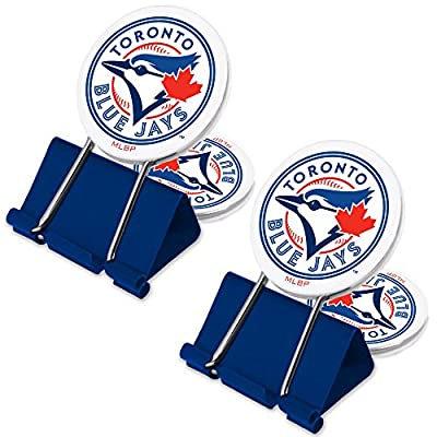 MLB Toronto Blue Jays MyFanClip Multi Purpose Clips (Pack of 2)