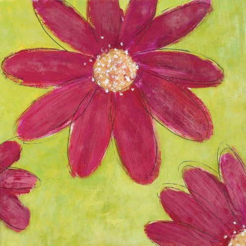 "Art 4 Kids ""Full Bloom"" Mounted Art Print, 16""X16"""