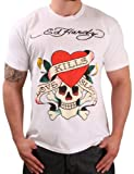 51l9j9Ocl3L. SL160  Ed Hardy Christian Audigier Mens Crewneck Love Kills Slowly T Shirt Tee