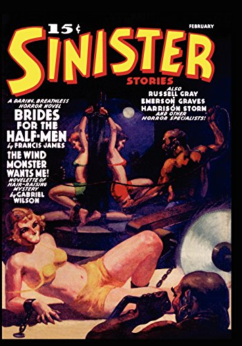 Pulp Classics: Sinister Stories #1 (February 1940)
