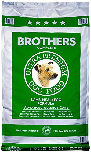 Brothers Complete Lamb Meal and Egg Advanced Allergy Formula, 25-Pound (Brothers Allergy Dog Food compare prices)