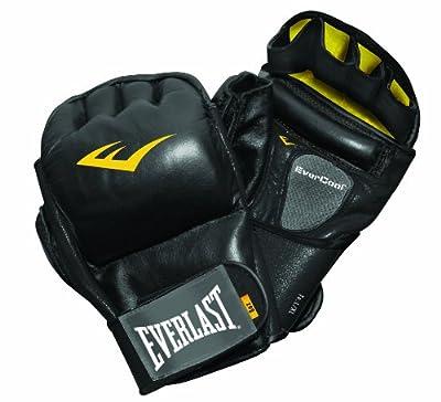 Everlast Train Elite Leather Wristwrap Heavy Bag Gloves