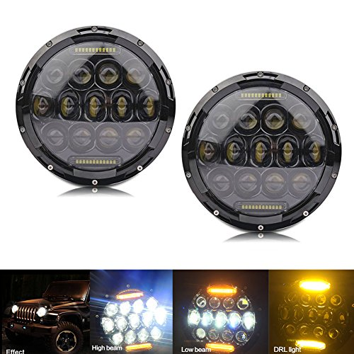 7inch-75w-high-beam-35w-low-beam-round-black-phillips-led-headlight-6000k-yellow-drl-for-jeep-wrangl