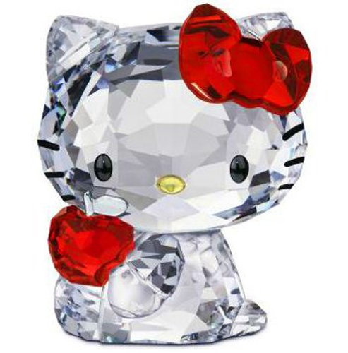 Swarovski Hello Kitty Red Apple Katze m. Apfel Cat 1096878 AP2012