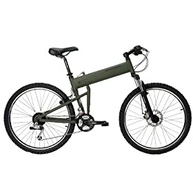 Montague Paratrooper Mountain Folding Bike