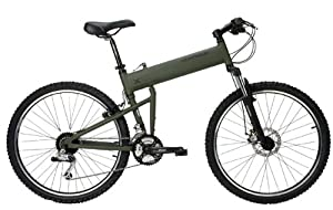 "Montague Paratrooper Mountain Bike 18"" Matte Cammy Green"