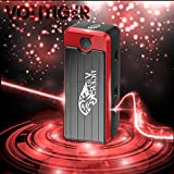 [Power Upgraded] Volitiger 16500mah Never Stop Emergency Portable Car Jump Starter power bank with light car power bank(Volitiger.com) Emergency Power Source Emergency Auto Start Power - 400 AMP Peak & Ultra-bright LED Flash Light for SOS & High Capacity Power Bank for Cellphone Car Has Stalled (King Tiger) - 1 Year Limited Warranty