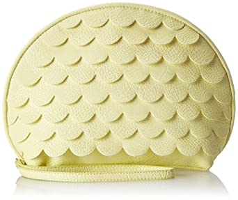 BCBGeneration Quinn The Coquille Bag Clutch,Limestone,One Size