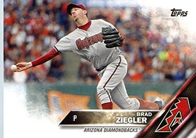 2016 Topps #25 Brad Ziegler Arizona Diamondbacks Baseball Card