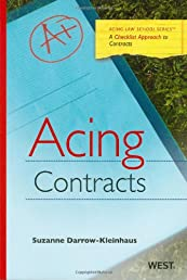 Acing Contracts (Acing Law School)