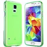 Samsung Galaxy S5 Hülle in Grün - Silikonhülle Case Schutzhülle Tasche für Galaxy S5