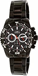 Invicta Men's 19848 Pro Diver Analog Display Quartz Black Watch