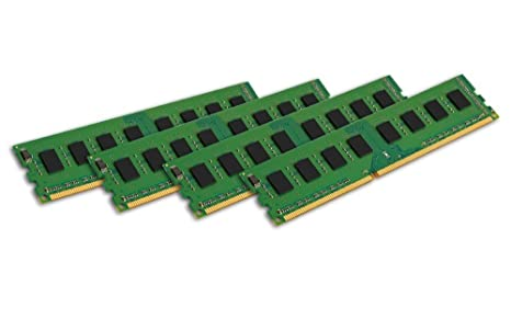 Kingston KVR1333D3N9K4/32G RAM 32Go 1333MHz DDR3 Non-ECC CL9 DIMM Kit (4x8Go) 240-pin, 1.5V