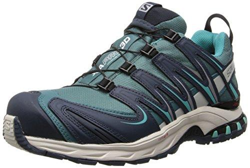 Salomon Women's XA Pro 3D CS WP W Trail Running Shoe,Horizon Blue/Deep Blue/Softy Blue,8 M US (Womens Cycling Salomon compare prices)