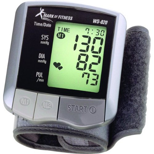 Cheap Mark of Fitness WS-820 Wrist Blood Pressure Monitor (AAC3001-NTHWS820)