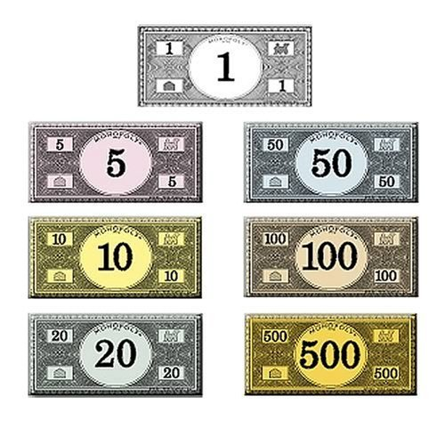 monopoly money templates - printable monopoly money