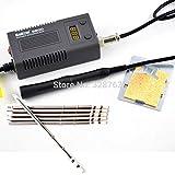 Soldering EU plug BK 950D mini Portable Digital soldering station Electric solder iron+T13 tips Heating Core 100~240V - (Color: B 950 set) (Color: B 950 set)