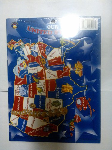 12 Piece Puzzle-Our United Stetes