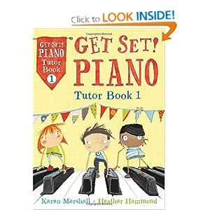 get set piano tutor book 1 amazon co uk heather hammond
