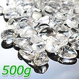 ・高透明 天然AAAAAヒマラヤ水晶さざれチップ 浄化用 天然水晶 パワーストーン 天然石 さざれ 500g