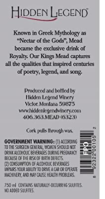 "NV Hidden Legend ""The King's Mead"" 750 mL"
