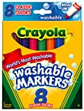 Crayola Washable Markers,  Broad Poin...