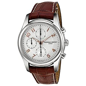 Frederique Constant Men's FC-392RV6B6 RunAbout Brown Leather Strap Watch from Frederique Constant